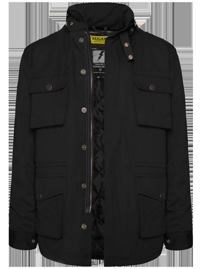"""JOHN DOE Kevlar Jacket """"Field Jacket XTM"""" black"""