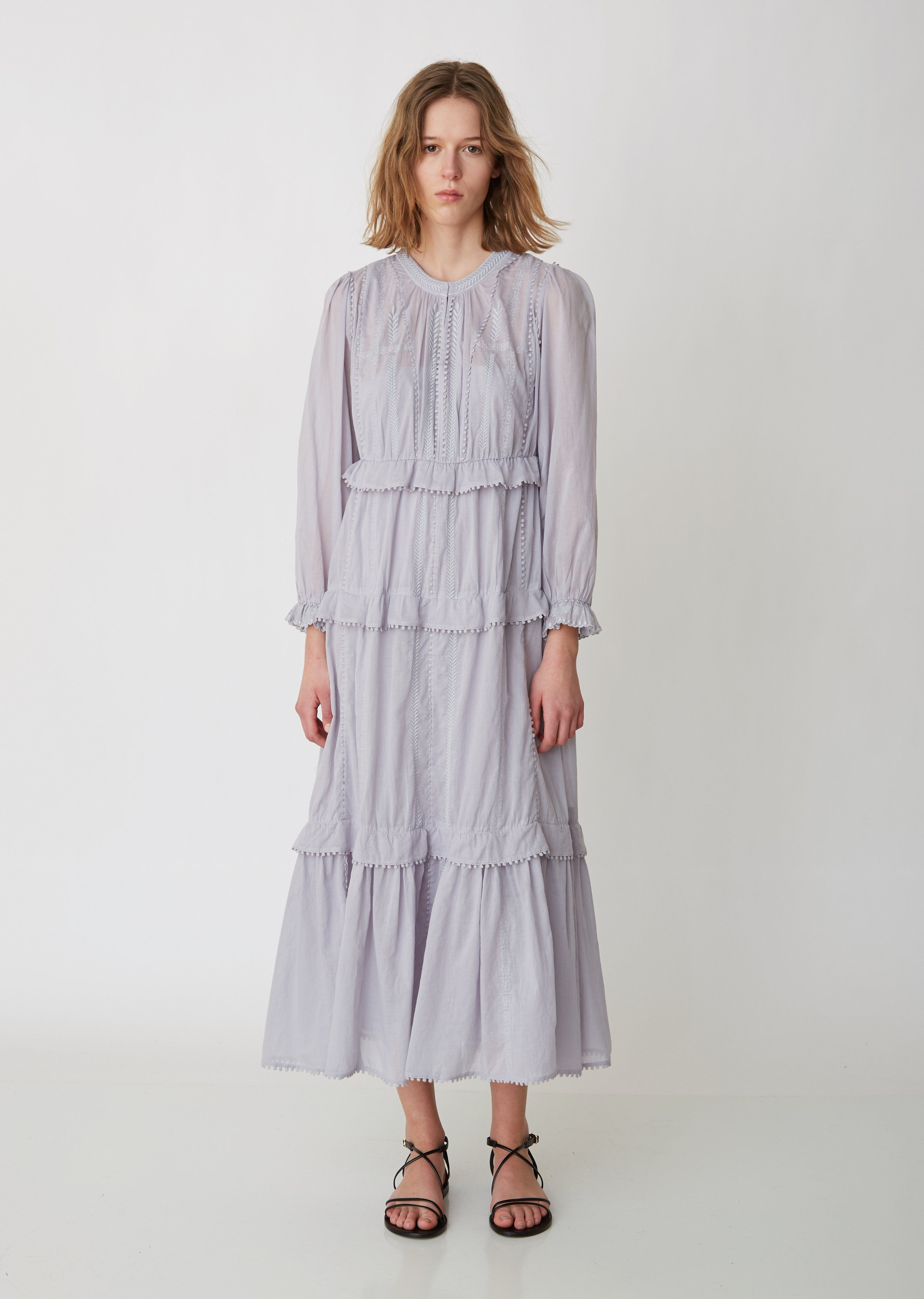 5584b02aa4c Aboni Cotton Voile Dress - FR 34 / Light in 2019 | Looks for spring &  summer | Dresses, How to wear, Cotton lights