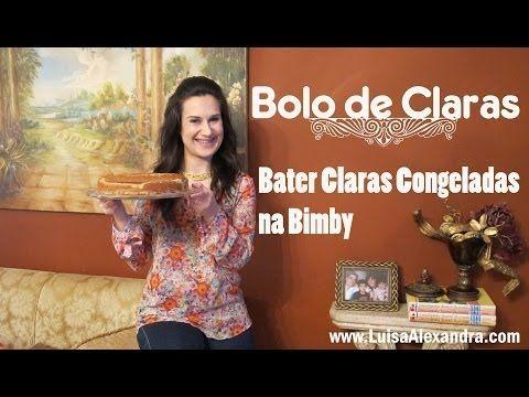 Bater Claras Congeladas na Bimby • Bolo de Claras • www.luisaalexandra.com
