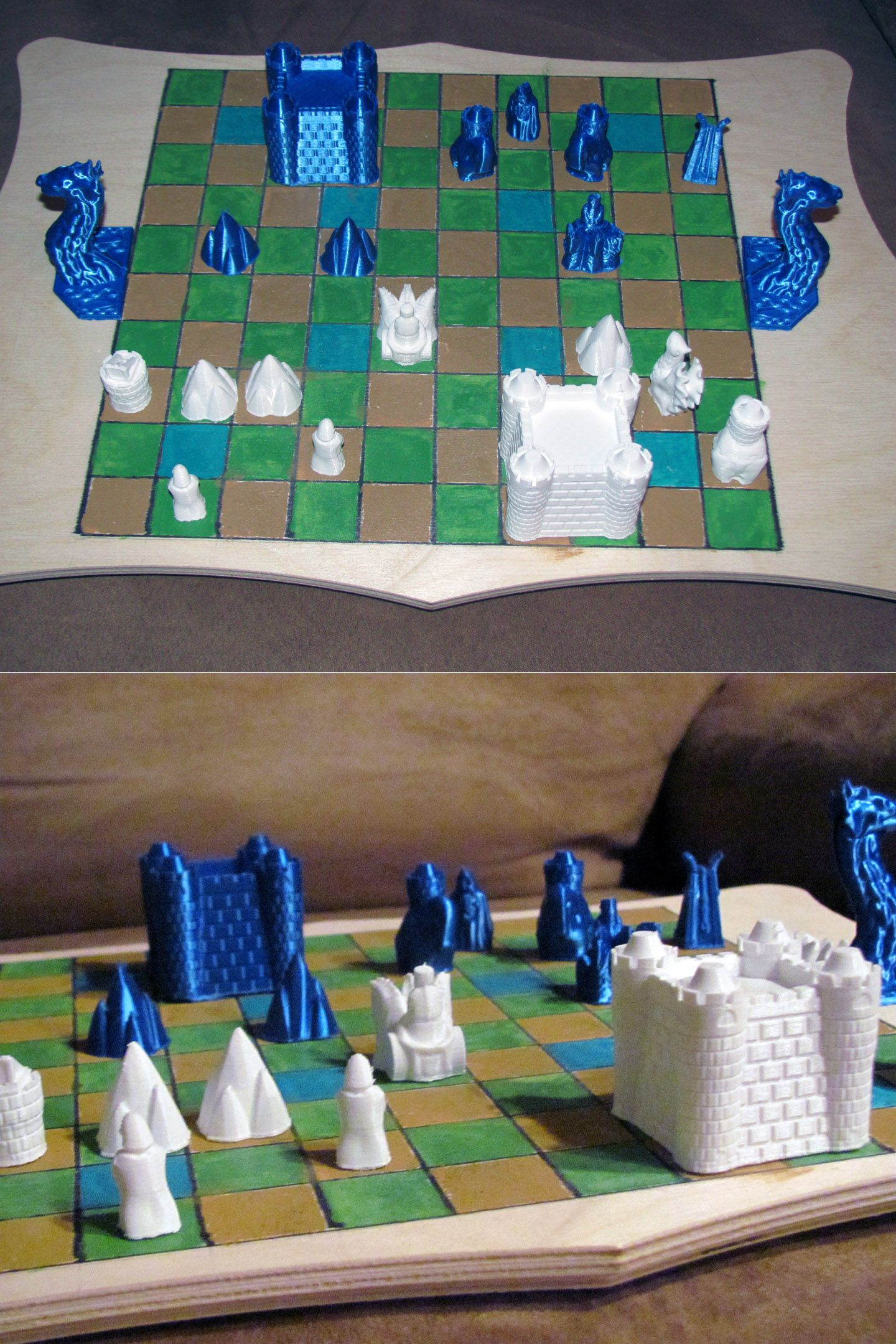 Cyvasse Is A Two Player Strategy Board Game Featured In George