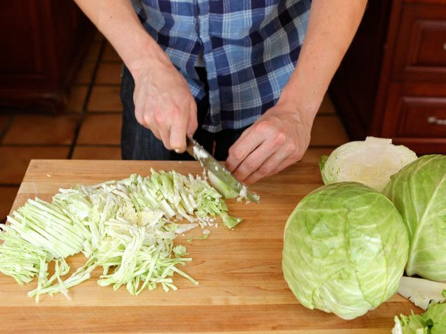 How to Ferment Cabbage and Make Sauerkraut | Tori Avey