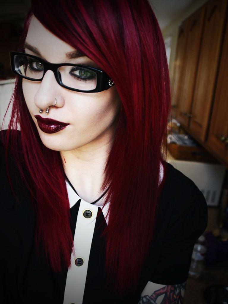 Dark Red And Black Hair Tumblr Bdarkb Brown