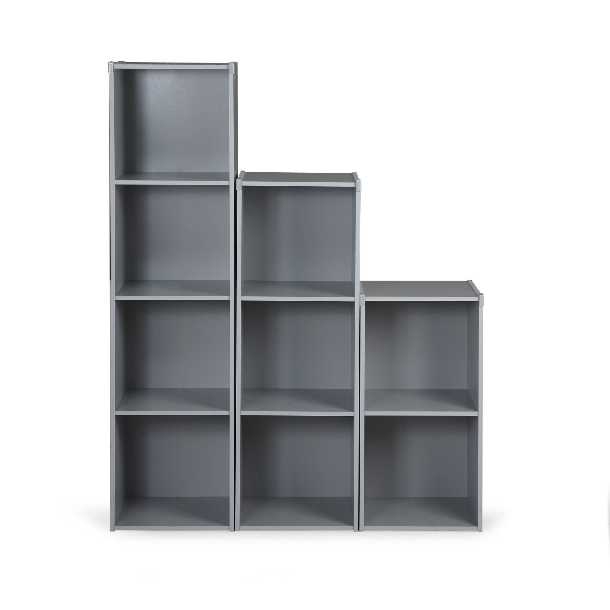 Rangement gris pour chambre d 39 enfant plusieurs choix de - Meuble pour ranger les livres ...