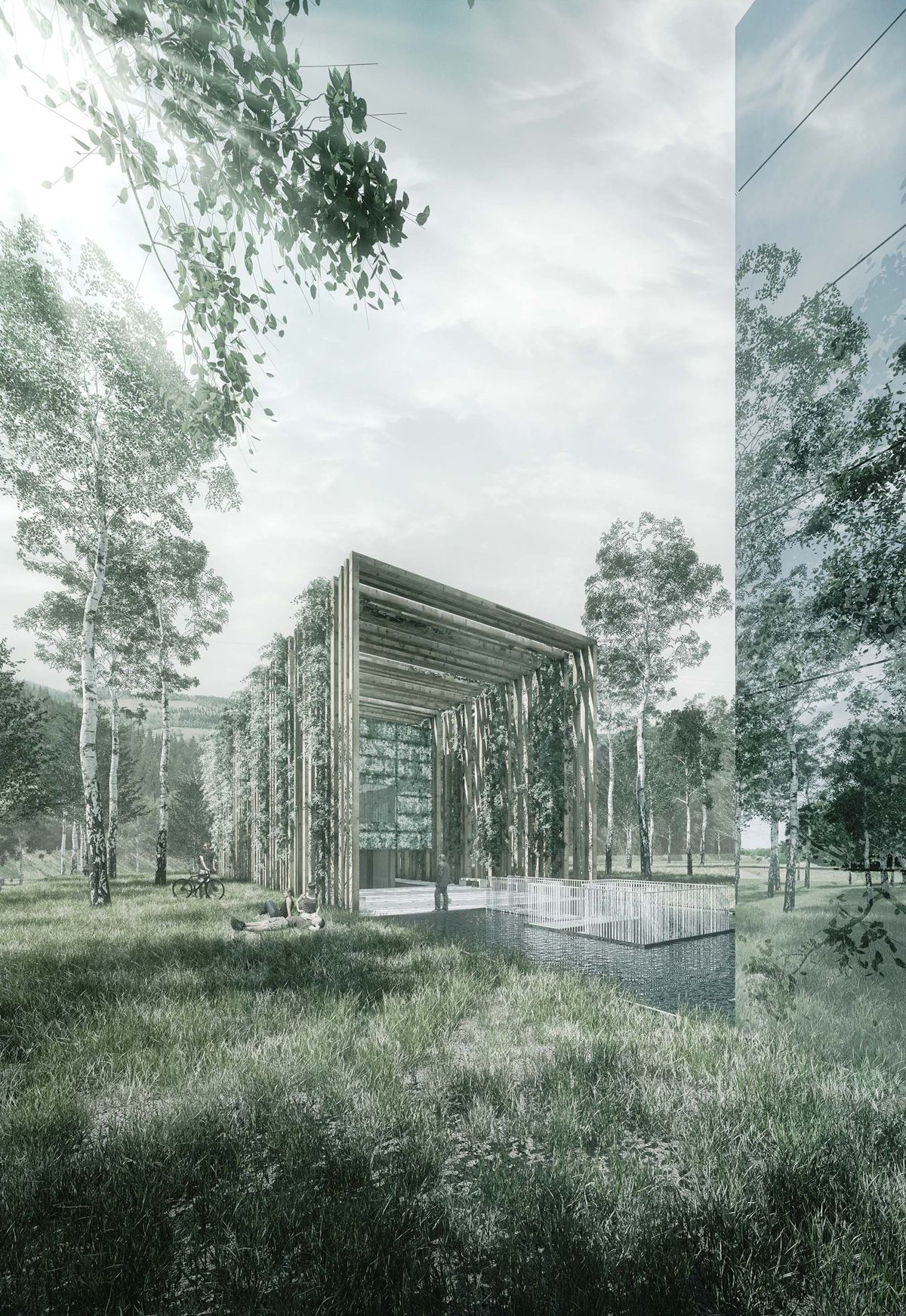 Francisco Mangado Nueva Sede Norvento HIC arquitectura Pinterest