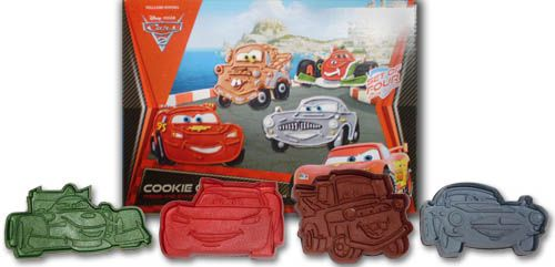 cars 2 cutters cookie cutters silicone molds cookie cutters