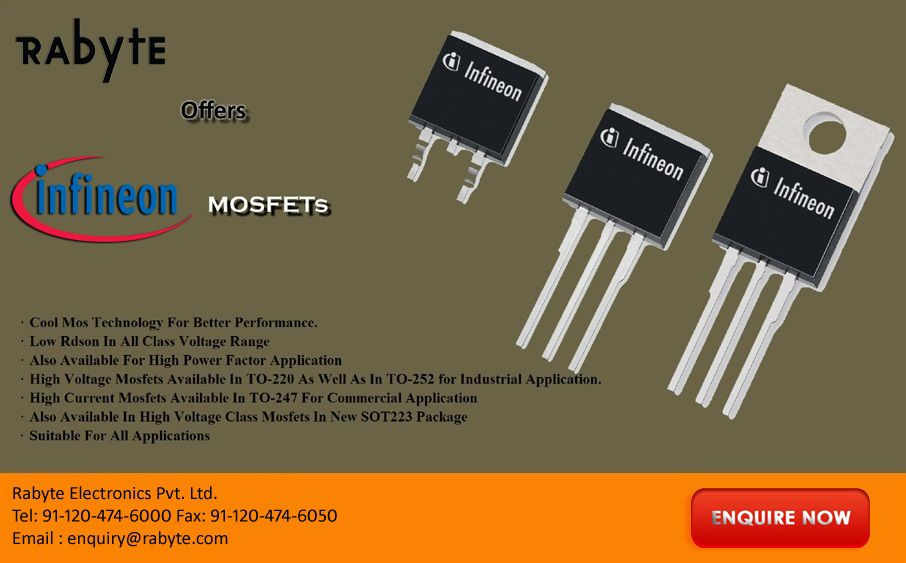 High Voltage Mosfets from Infineon for an Industrial and