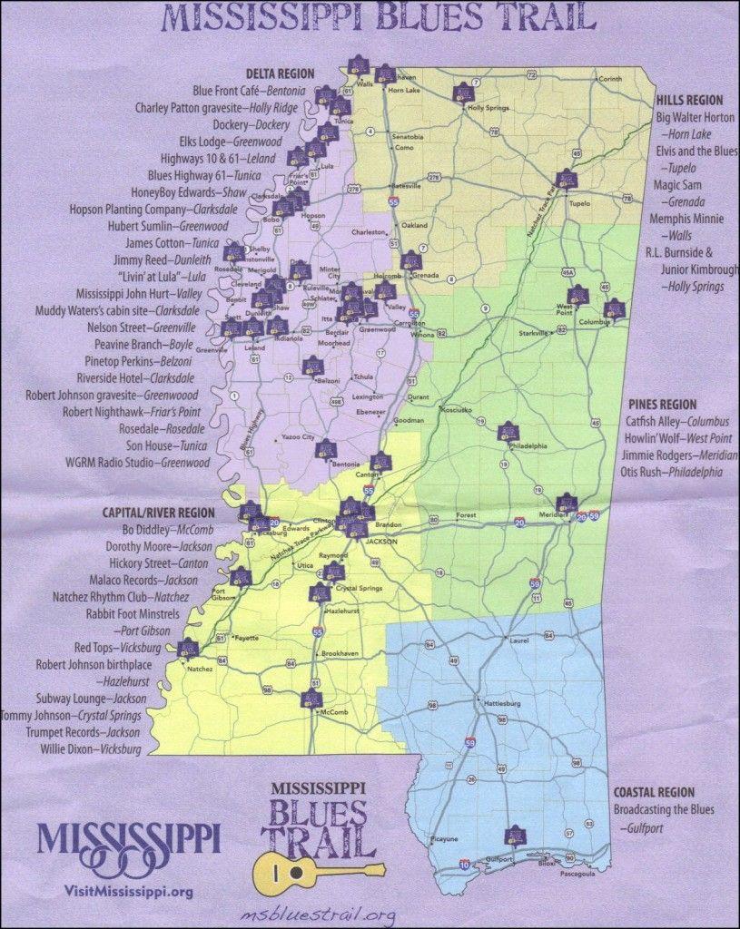 Mississippi Blues Trail1 815x1024 Mississippi Blues Mississippi Blues Trail Mississippi