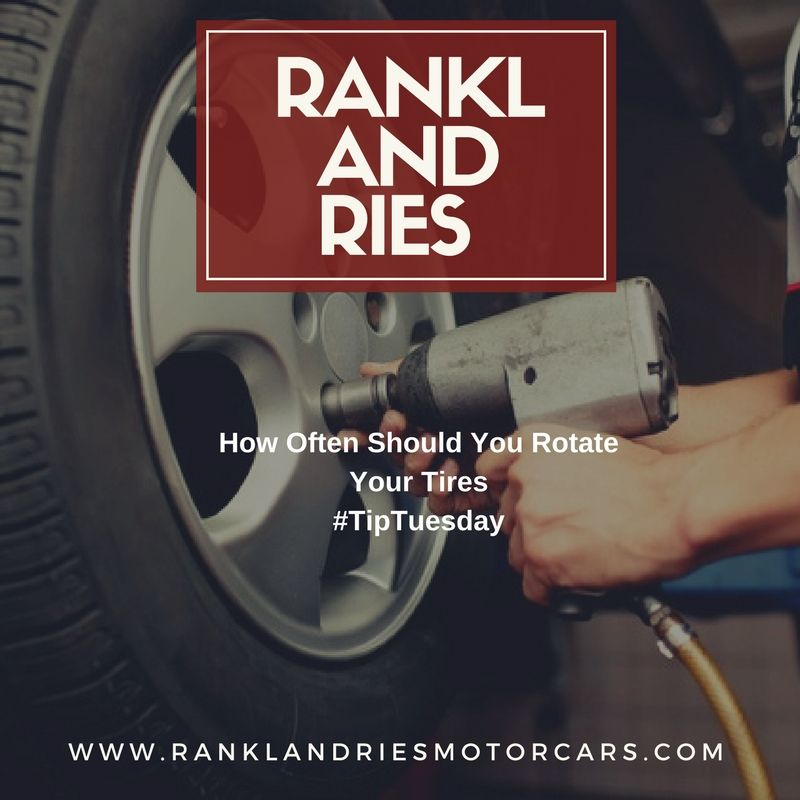 Check our blog for tips on tire rotation. Tires