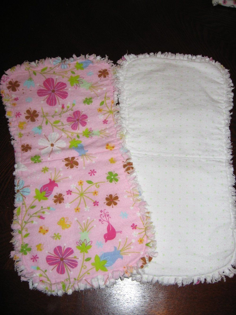 Burp Cloth Tutorial Sewing Patterns Homemade And New Babies