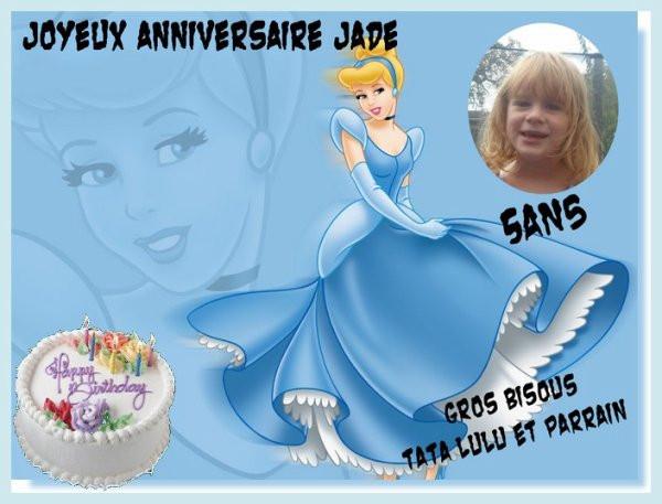 Joyeux Anniversaire Jade Lovely Anniversaire De Ma Petite Fille Jade Qui A Eu 5 Ans Ce