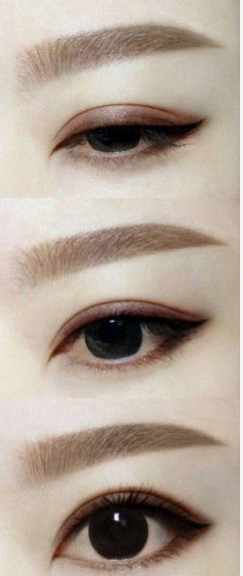 Pin By Gretchen Varineau On Eyebrows Asian Eye Makeup Ulzzang