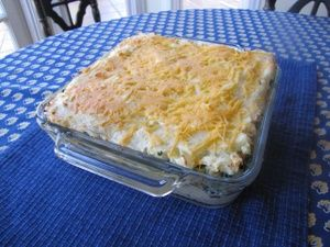 A matzo mina is a Sephardic layered pie, somewhat like lasagna, in which matzos are substituted for noodles. Some are made with ground meat, some with eggplant. Today's recipe is a vegetarian dairy matzo mina with spinach and potatoes.