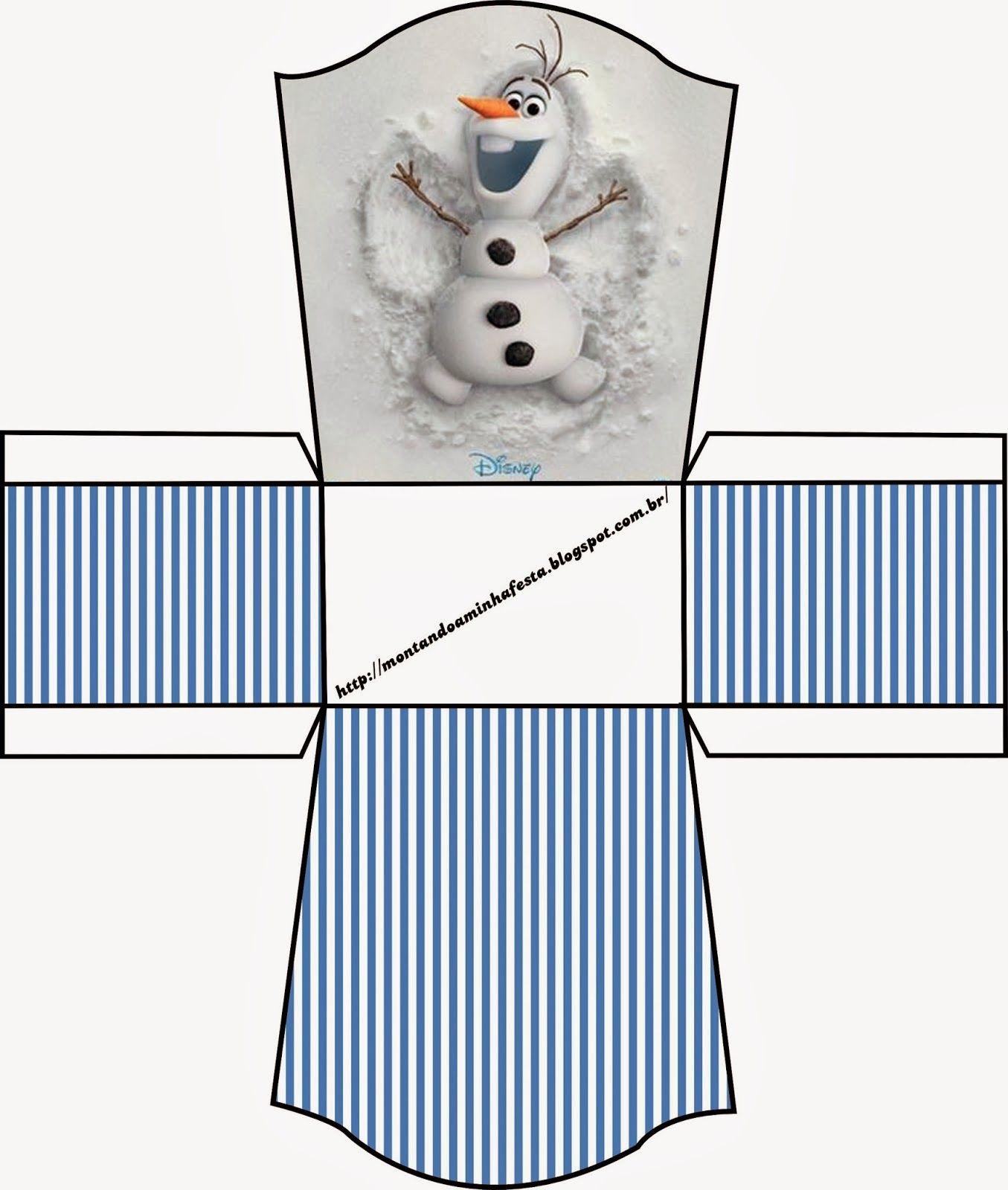Frozen: Bellas Cajas para Imprimir Gratis. | Ideas y material ...