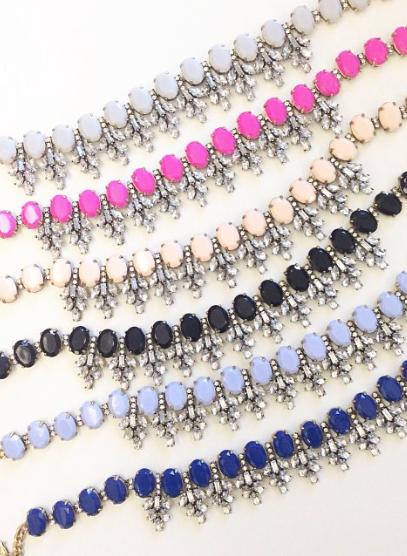 colorful bauble necklaces galore!