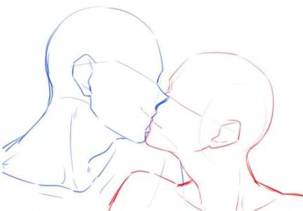 57 Trendy Drawing Ideas Couples Kisses Sketch Drawing Couple Poses Body Pose Drawing Anime Poses Reference