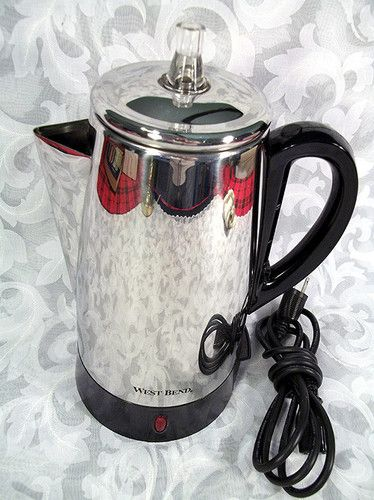 $39 99 VINTAGE WEST BEND 12 CUP AUTOMATIC ELECTRIC COFFEE MAKER