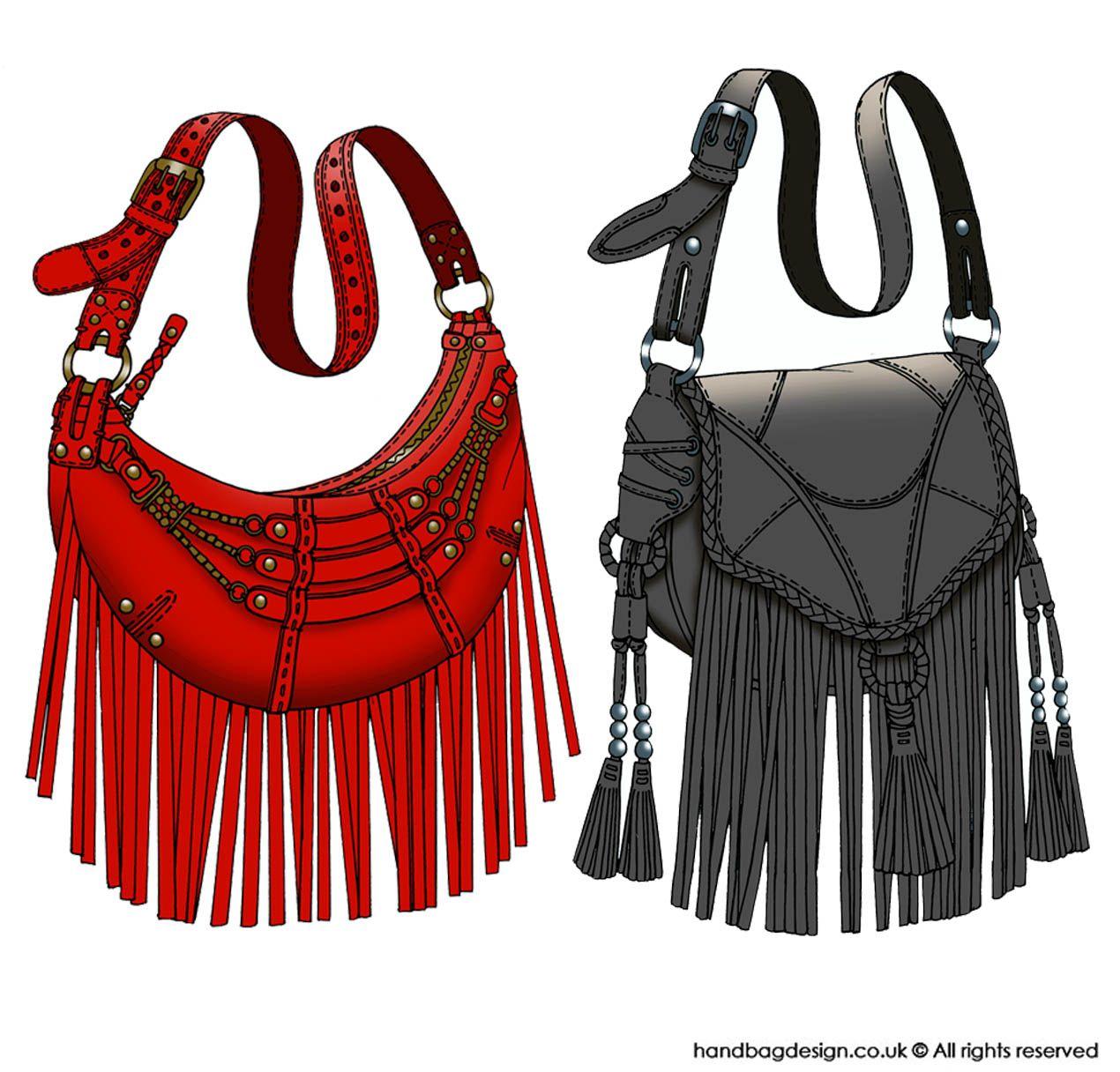 Handbag design Colour Cads / Computer rendering | Art ...