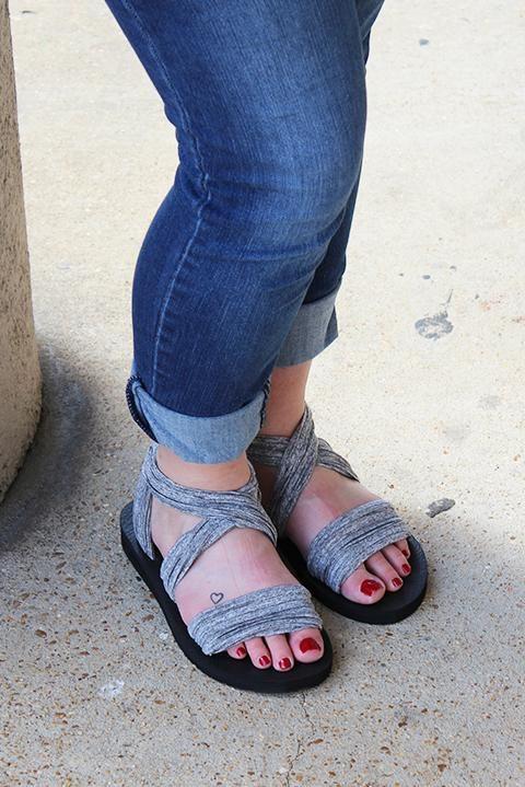 Skechers Meditation Still Sky Ankle Strap Sandal (Women's) ItnxoJK