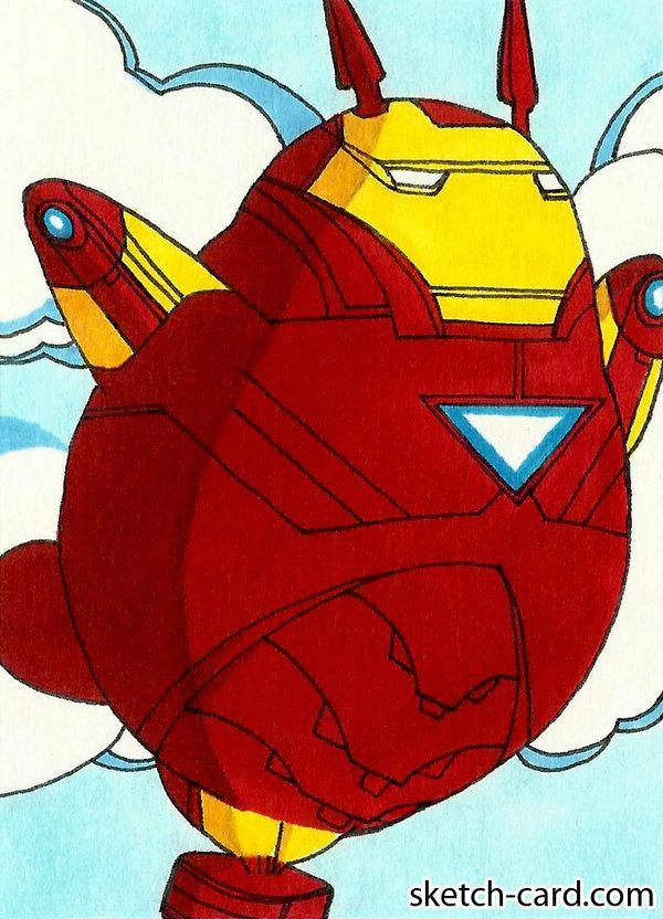Iron man Totoro