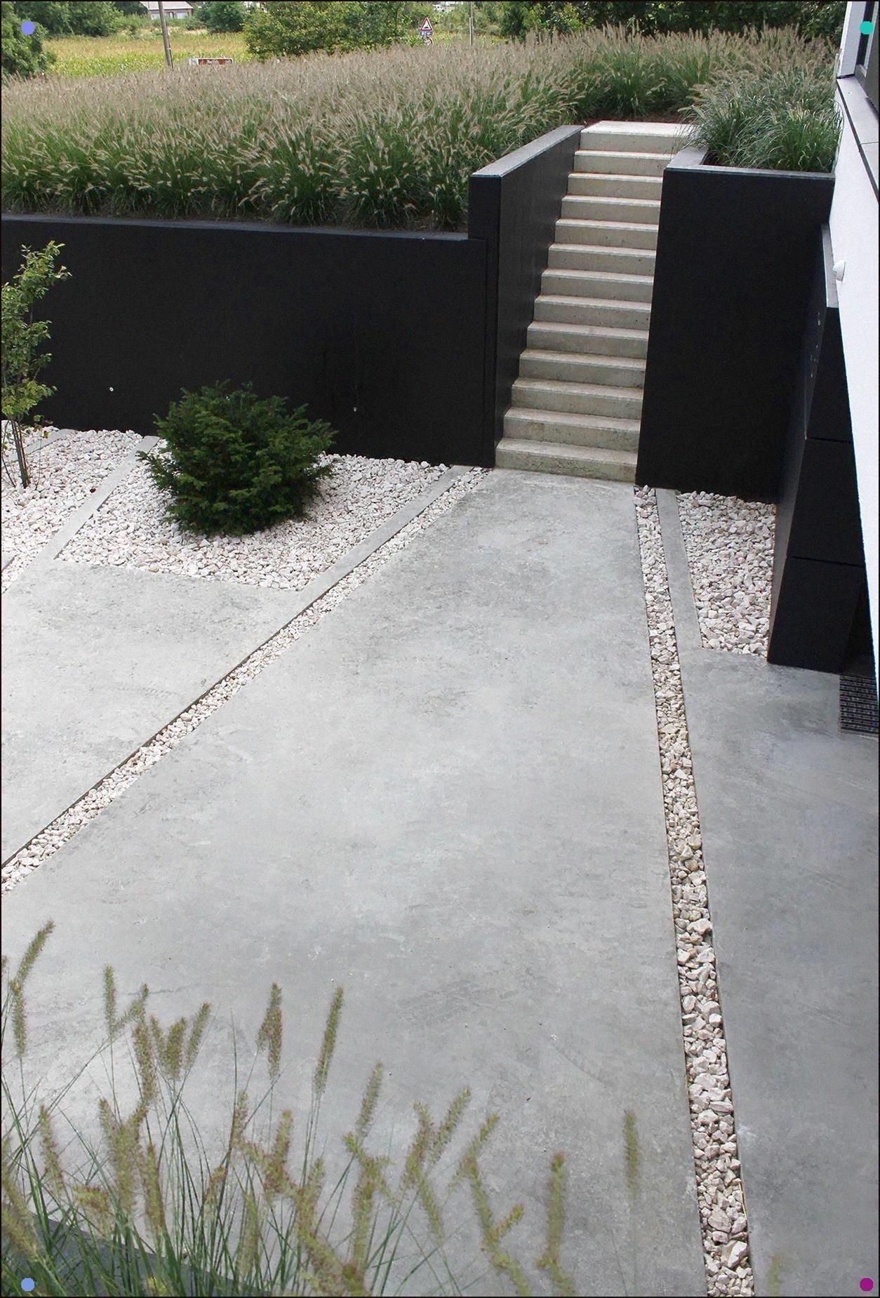 Very Cool Concrete Pavers Gravel Garden Floor Modern Garden Patio Garden
