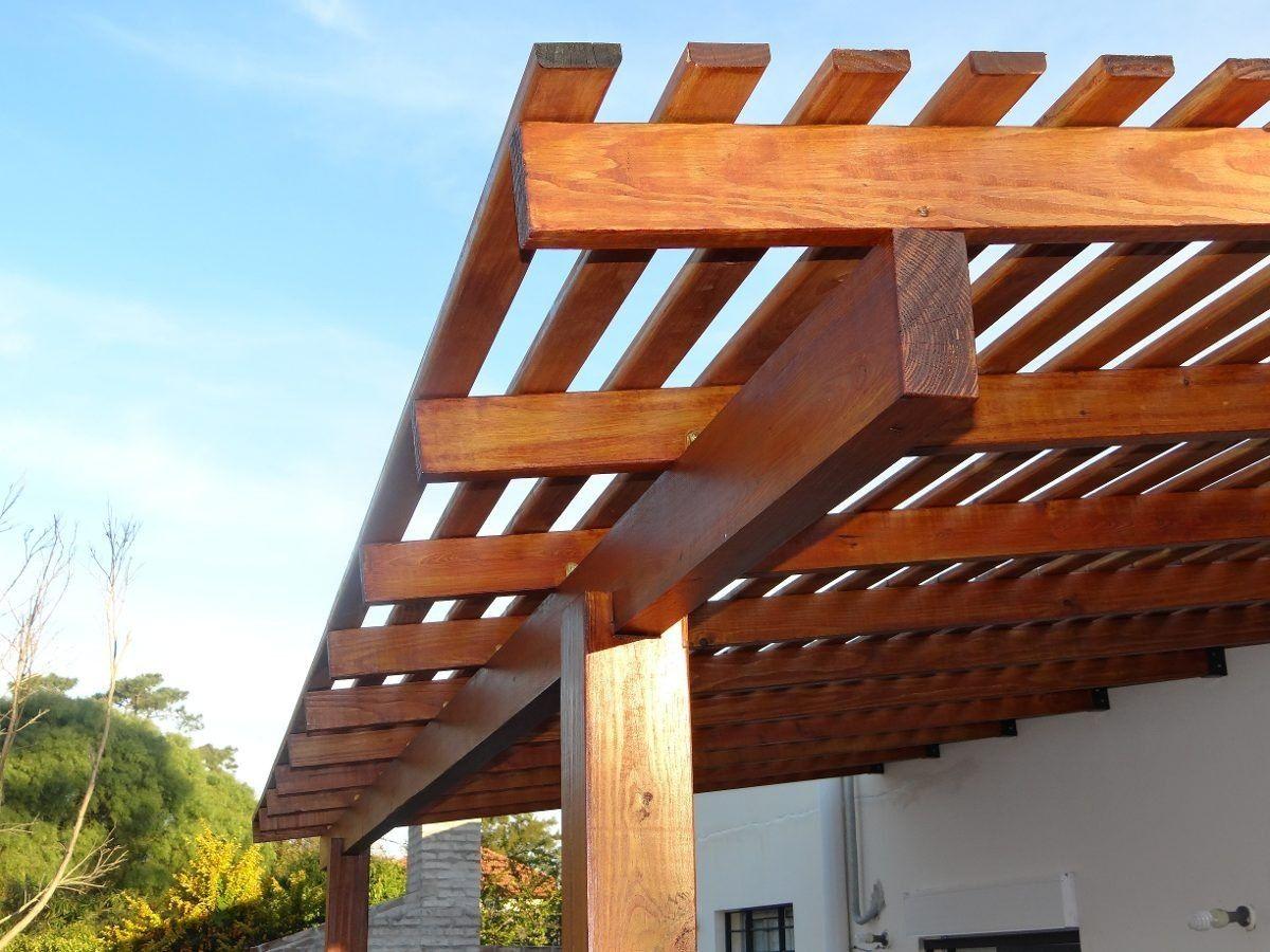 pergolas de madera para quinchos