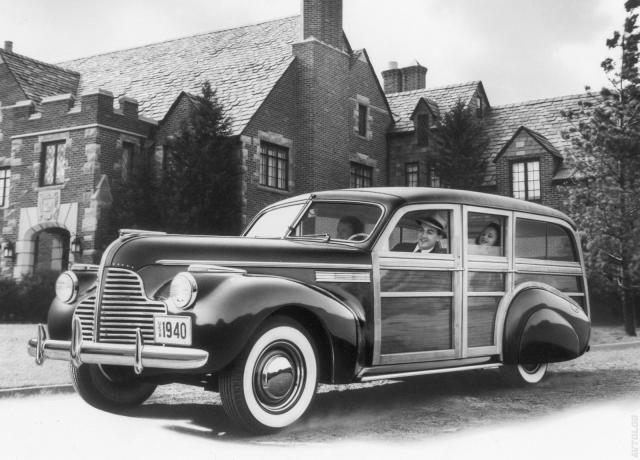 1940 Buick Super Estate Wagon Exclusive Buick Pinterest