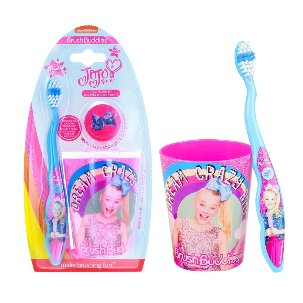 Jojo Siwa Toothbrush Set With Rinsing Cup And Cap Jojo Siwa Jojo Siwa Birthday Jojo Siwa Outfits