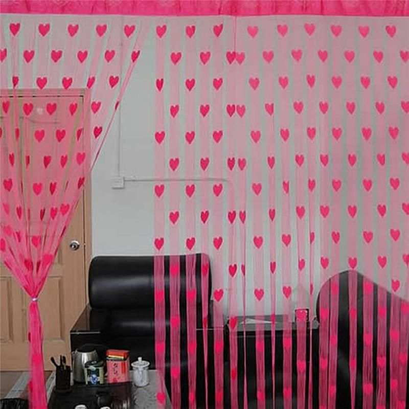 Curtains Line String Door Tassel Divider Curtains For Living Room ...