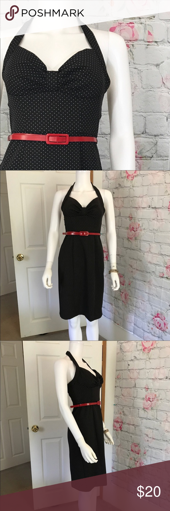 My michelle backless pinup retro dress