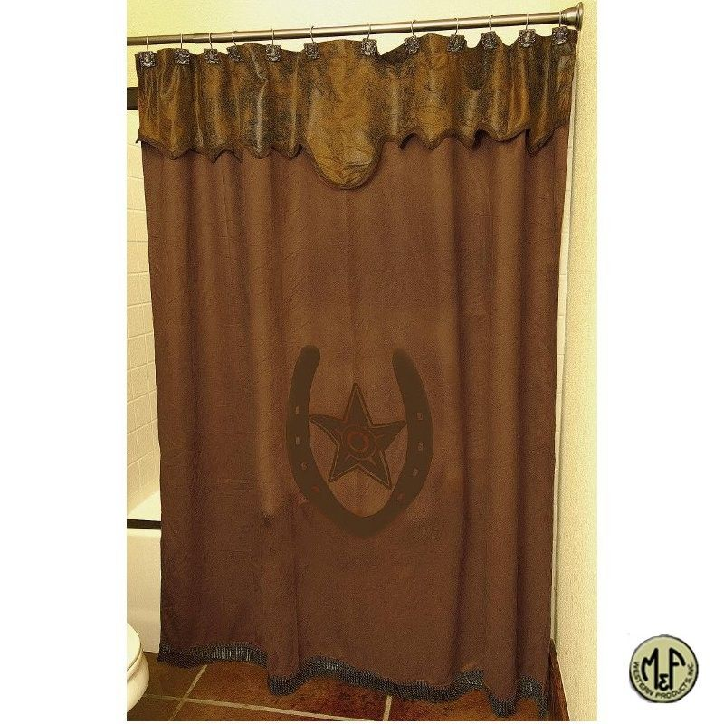 M Western Star Shower Curtain With Images Western Shower Curtain Western Bathroom Decor Western Home Decor