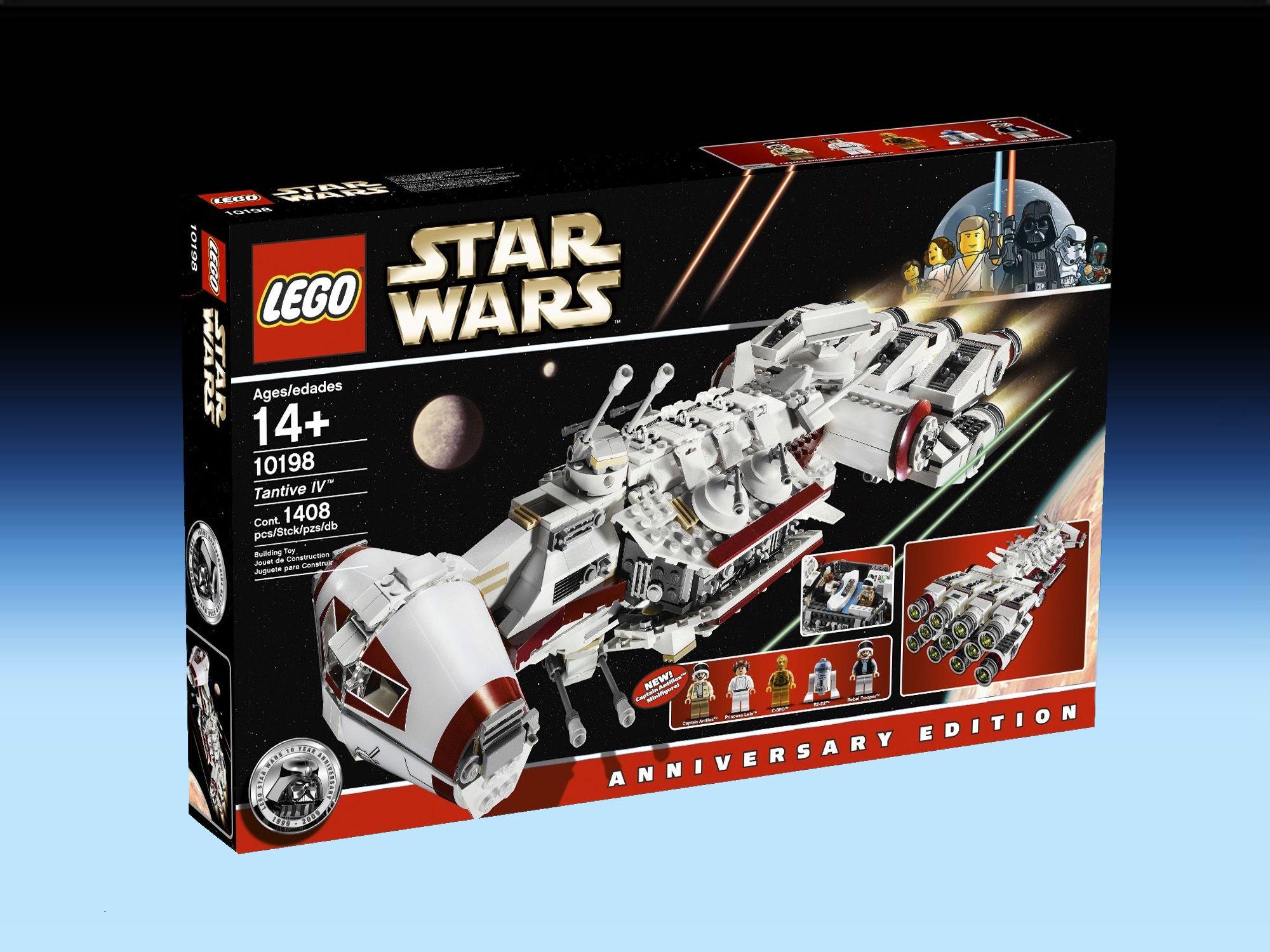 10198 Tantive Iv 2009 1 408 Pieces 5 Mini Figures Lego Star Wars Lego Star Wars Sets Star Wars Toys