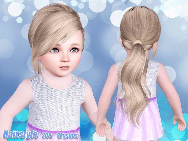 Skysims Hair Toddler 208 k Sims 3