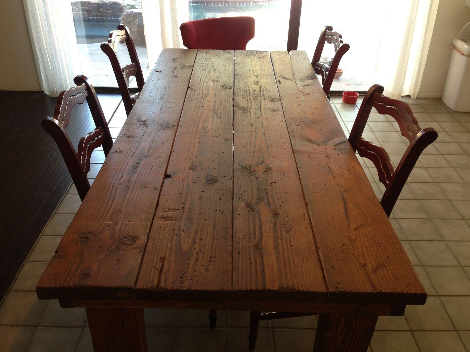 Rustic Farmhouse Dining Table Farmhouse Dining Table Rustic