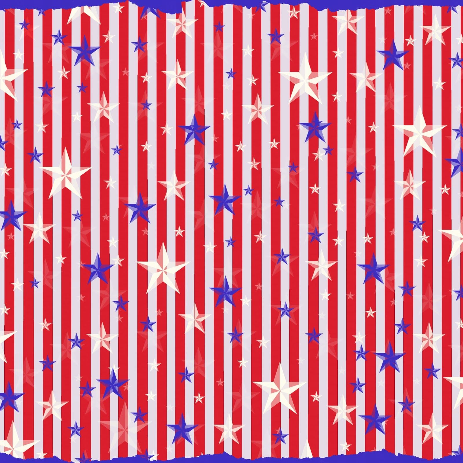 free digital scrapbook paper patriotic red white and blue