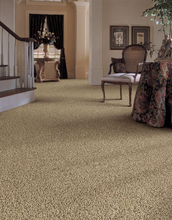 Denali Bluffs Contemporary Frieze Carpet Avalon