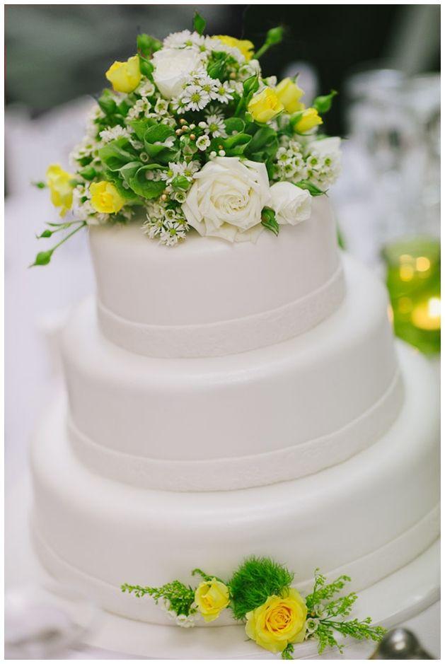 Wedding cake  Fresh flowers simple three tiered white fondant cake  Flowers  of Charlotte lovesWedding cake  Fresh flowers simple three tiered white fondant cake  . Real Simple Wedding Cakes. Home Design Ideas