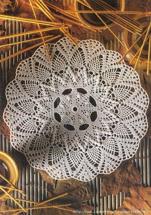 Pin de Leisa Nolte en doilies | Pinterest | Mantas de ganchillo ...