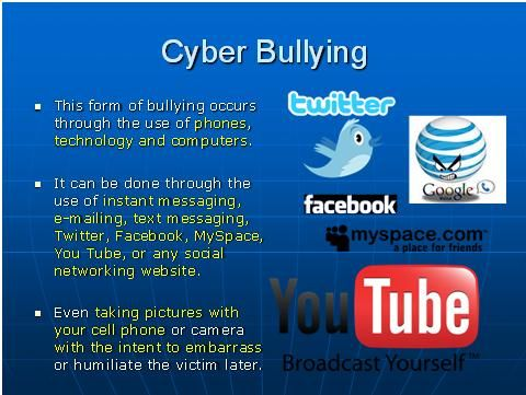 Cyber-Bullying Facts | Cyber-Bullying | Pinterest | Google images ...