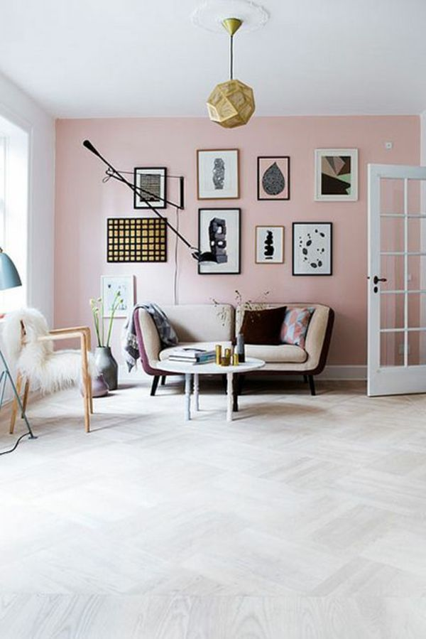 Old pink wall paint gives the ambience tenderness | Wallpaper ...