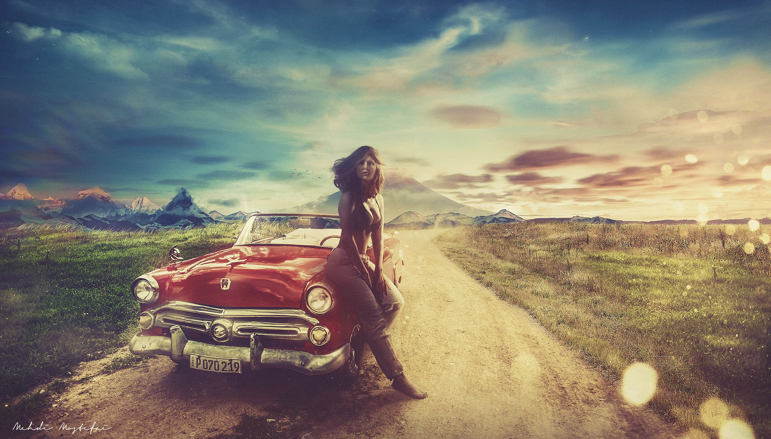 Pin On Scenes Free classic car wallpaper desktop