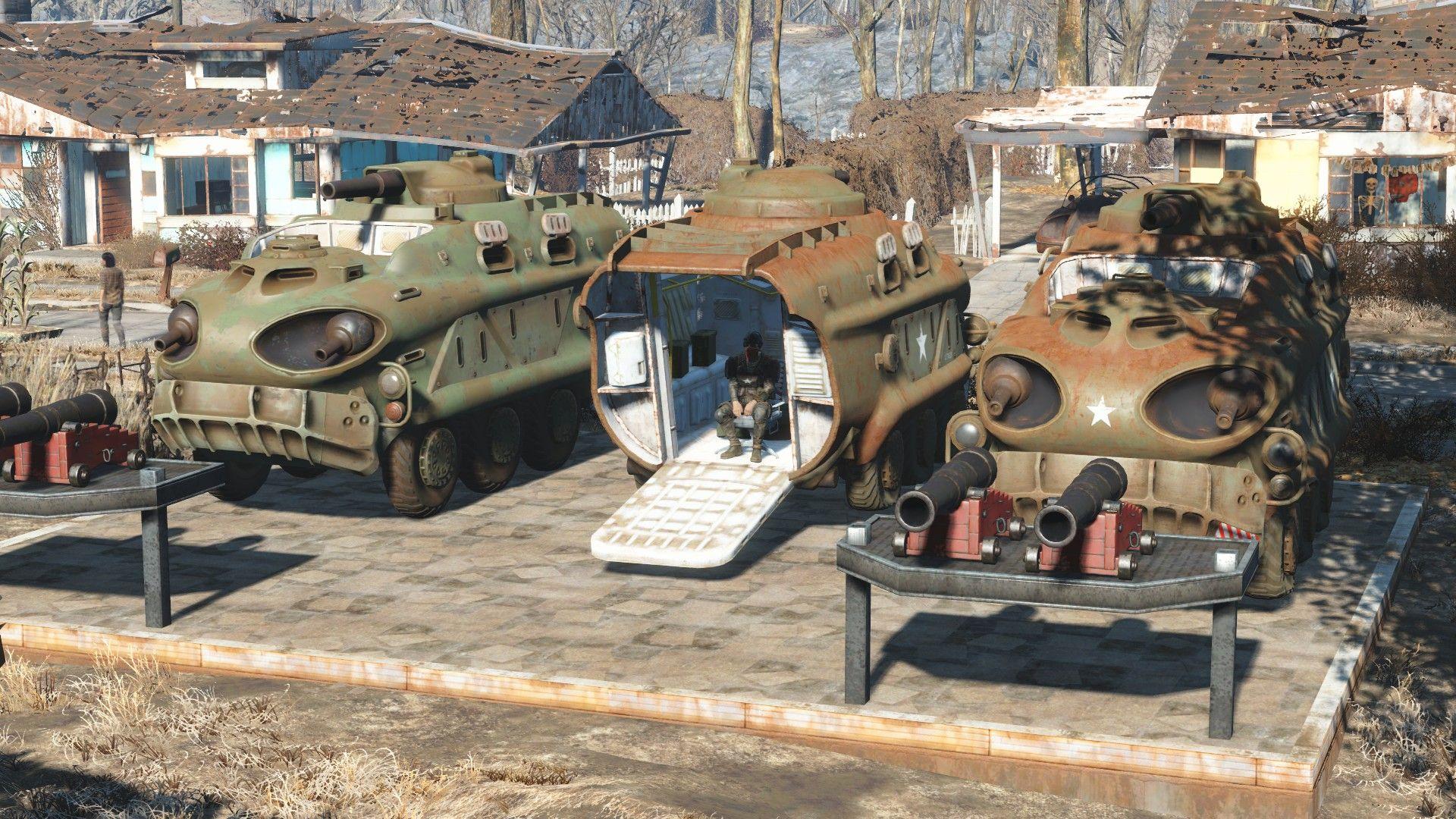 I ️ Tumbajambas Combat Power Armor @ Fallout 4 Nexus