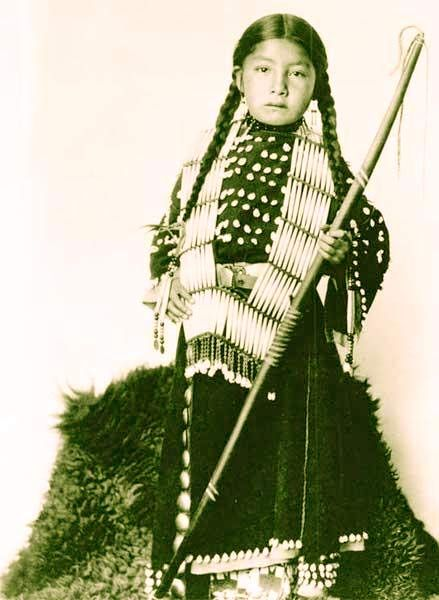 Native America Girl