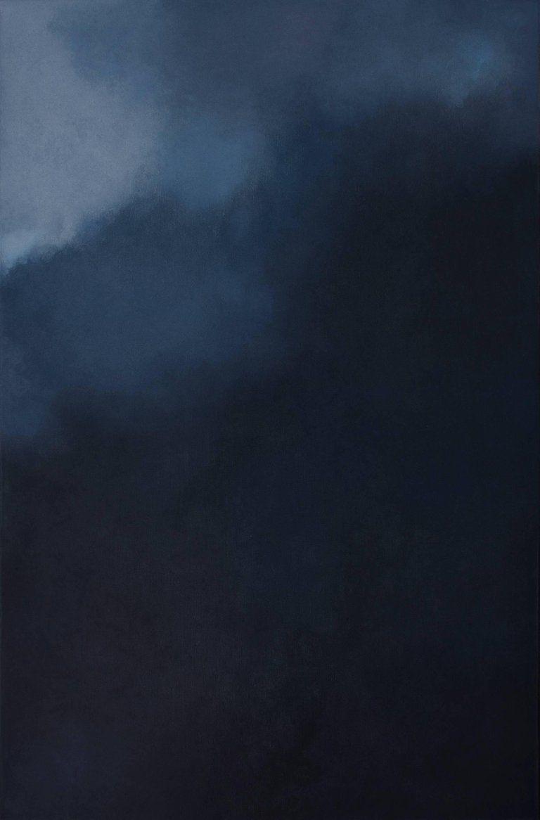 Kc Paillard Silence Dark Blue Grey Abstract Softcolored