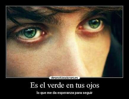 Hermosos Ojos Verdes Love Amor Ojos Y Frases