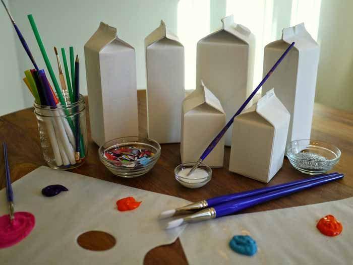 Recycling ideen basteln  upcycling ideen recycling basteln tetrapack wikking ...