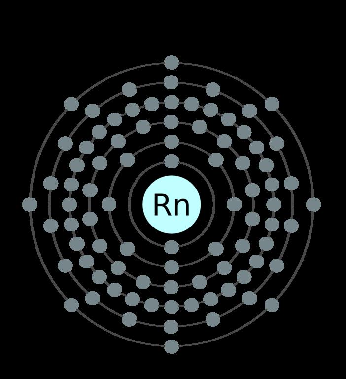 Radon bohr diagram wiring center radon cause cancer lung cancer pinterest rh pinterest com radon lewis dot diagram xenon bohr diagram ccuart Images