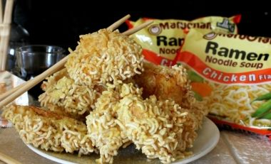 Ramen Chicken Nuggets