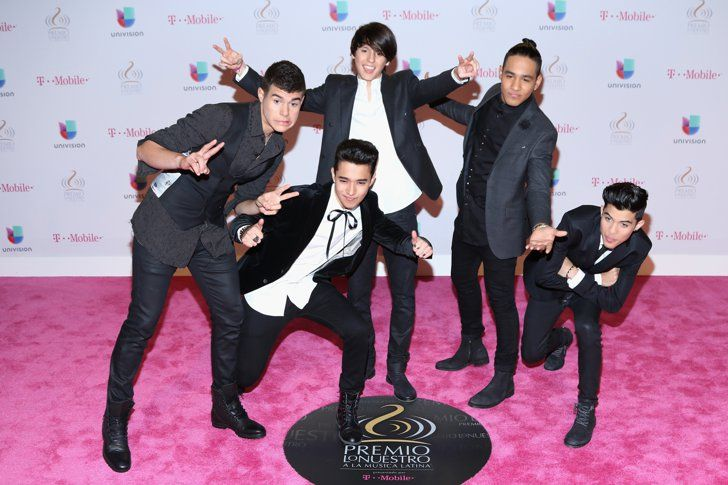 Pin for Later: See Every Amazing Look From the Premio Lo Nuestro Pink Carpet CNCO