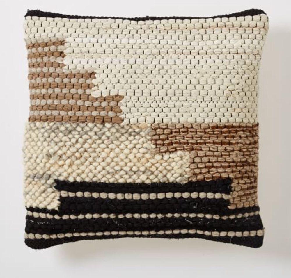 west elm colca pillow cover 20 craftmark certified. Black Bedroom Furniture Sets. Home Design Ideas