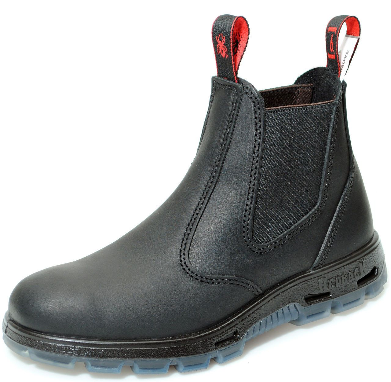 Redback UBBK Black Non Safety Boots - Australian Elastic Sided Boots